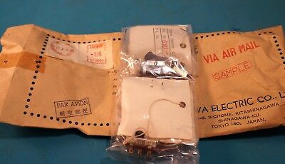 Vintage Tohwa Electrical Switch Assortment With Original Packaging Lot Of 4