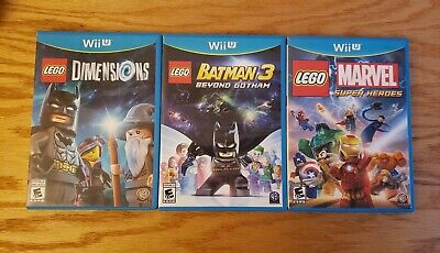 Lego wii u games bundle