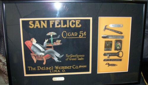 SAN FELICE Cigar Antique - Lima, Ohio - (retail $750)