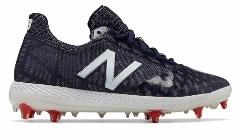 New Balance Low-Cut COMPv1 TPU Baseball Cleat Mens Shoes Navy