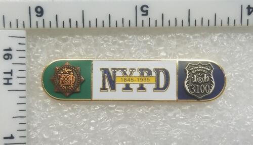 150th Anniversary Citation Bar- New York City Police Dept - Collector