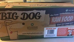 Big dog food (raw) well being dog food Gillieston Heights Maitland Area Preview