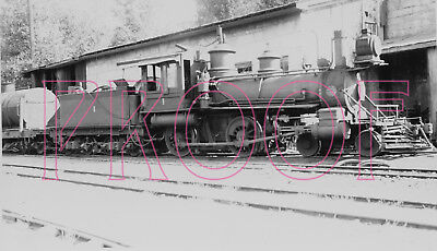 Used, Nevada County Narrow Gauge (NCNGRR) Engine 1 at Grass Valley in 1933 - 8x10 for sale  Sharon