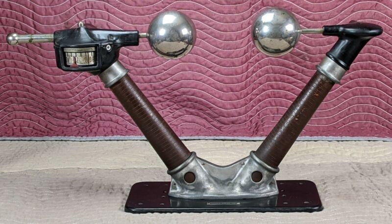 """Original X-RAY SPARK GAP ACME 100KV-300KV 30"""" Lab Tesla Coil Medical Old Radio"""