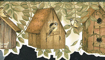 Die-Cut Country Birds Bird houses  6. 1/4
