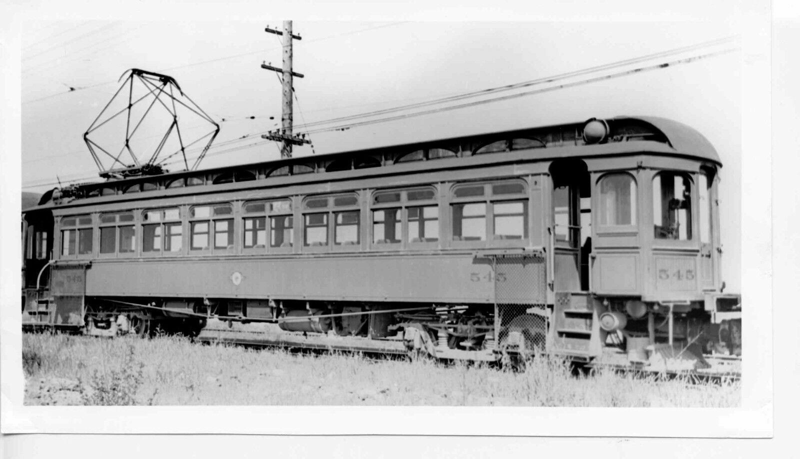 7DD100F RP 1935/1950s? KEY SYSTEM RAILWAY CAR #545