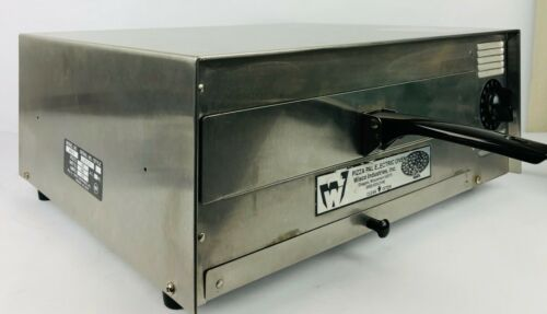 Wisco Pizza Pal Electric Oven #412-3  Stainless Steel Commercial Cooker Pristine