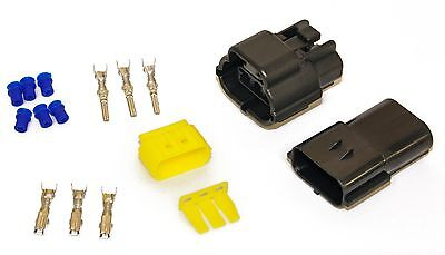 3 Way/Pin Car Auto Waterproof Wiring Cable Electrical Multi Connectors Block