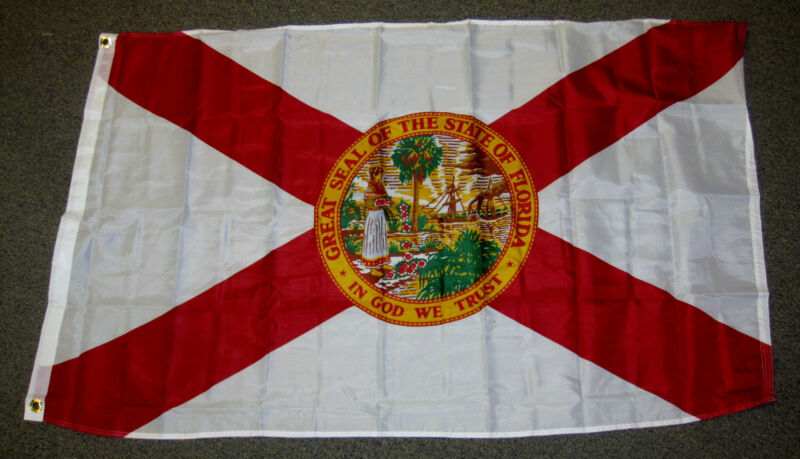 3X5 FLORIDA STATE FLAG FL FLAGS US STATES NEW USA F235