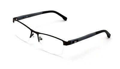 Men Rectangular Non-prescription Glasses Frame Clear Lens Rx'able Eyeglasses TR9 ()