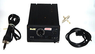 Pace St-75 Desoldering Station With Sensa Temp Ii Sord-x-tractor