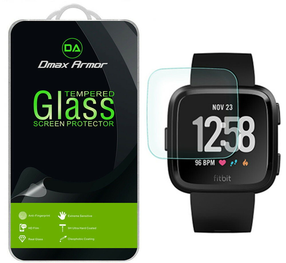 3X Dmax Armor Tempered Glass Screen Protector for Fitbit Ver