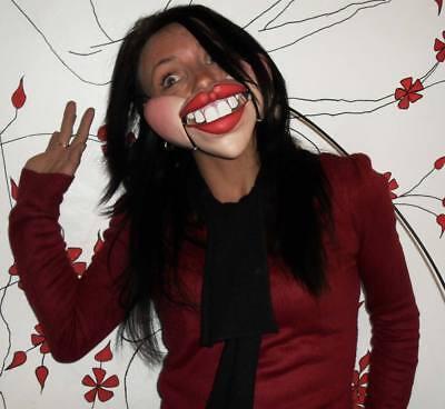 Female Ventriloquist Puppet half mask