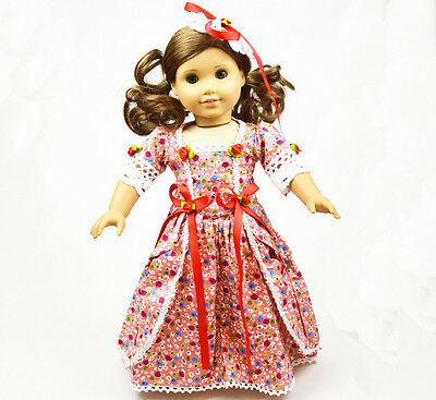 "Doll Clothes fits 18"" American Girl Handmade Handmade pattern Dress on Rummage"