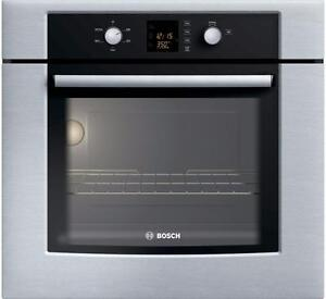Four encastré 30'', stainless, BOSCH, neuf  / New 30'' Bosch oven, stainless