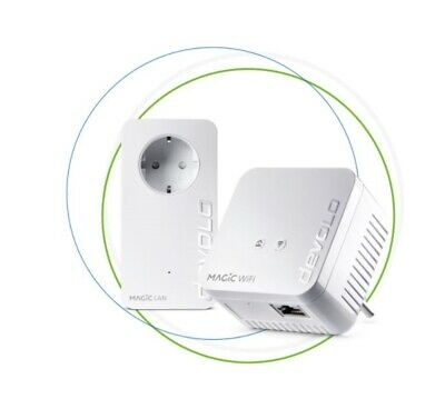 Devolo Magic 1 Wifi Mini Kit de Iniciación Powerline 1200 Mbit/ S