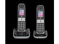 NEW CORDLESS PHONES 1+2+3 HANDSETS