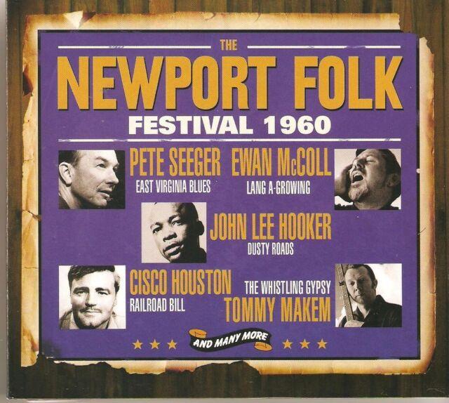THE NEWPORT FOLK FESTIVAL 1960 - 3 CD BOX SET - PETE SEEGER, TOMMY MAKEM & MORE
