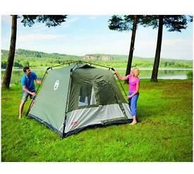 Full kit of camping gear, trailer, tent beds and more.