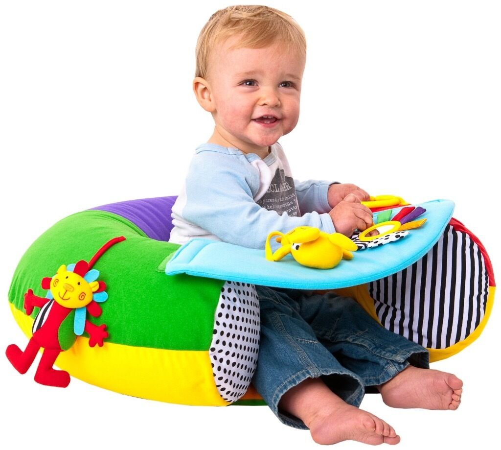 Red Kite Sit Me Up Baby Ring Chair Seat Inflatable Blow Up