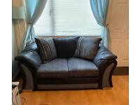 2 seater and a 3 seater sofa set