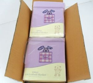 JOB LOT OF 10 HIDE & SEEK COT/COTBED FLEECE BLANKET RRP £200 OUR PRICE £40.00