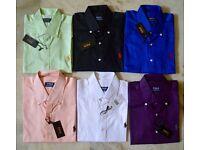 Ralph Lauren Shirts Plain Coloured Pony wholesale only