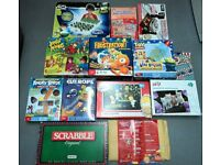 13 x Board Games Job Lot - suit ages 5- 10 Some like new some used all complete
