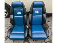 Nissan 300zx fairlady twin turbo or Na front and rear leather seats