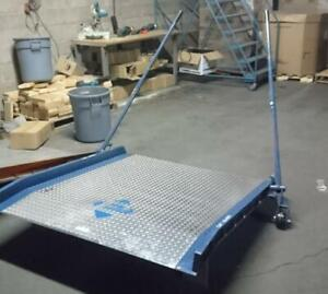 Rolling Dock Plate - 10,000Lbs Capacity - Only $1499!