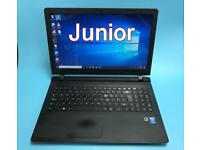UltraFast QuadCore 128SSD Slim HD Lenovo Laptop, 4GB, Win 10,HDMI,office,Very Good Condition