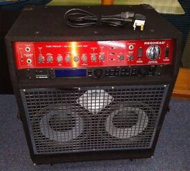 SWR FENDER REDHEAD 400/ 650 WATT BASS AMP COMBO 20TH ANNIVERSARY EDITION RARE