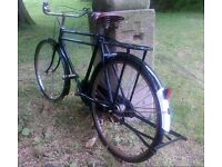 Twin tube gents roadster, vintage Pashley replica, cool town bike, price inc Glasgow City delivery