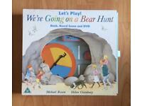 Going On A Bear Hunt Book Game CD ideal for Nursery