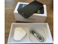 iPhone 5s 16GB black/space grey unlocked to networks