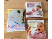 Baby and toddler cook books
