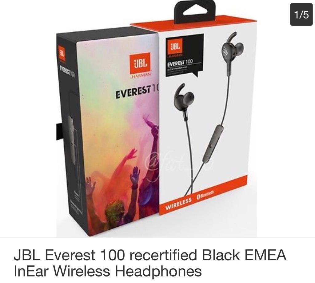 JBL EVEREST 100 WIRELESS HEADPHONES