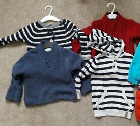 4 BABY JUMPERS (age 12 -18 months)