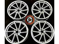 """19"""" Directional alloys 5x100, couple weeks old, perfect condition."""