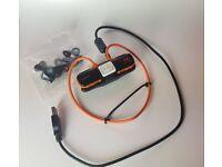 Sony Walkman waterproof W273S 4GB mp3 player + loads of spare buds