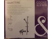 COOKE & LEWIS QUATTRE THERMOSTATIC MIXER SHOWER