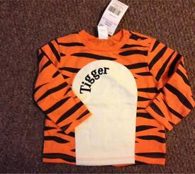 Age 3-6 months tigger top brand new