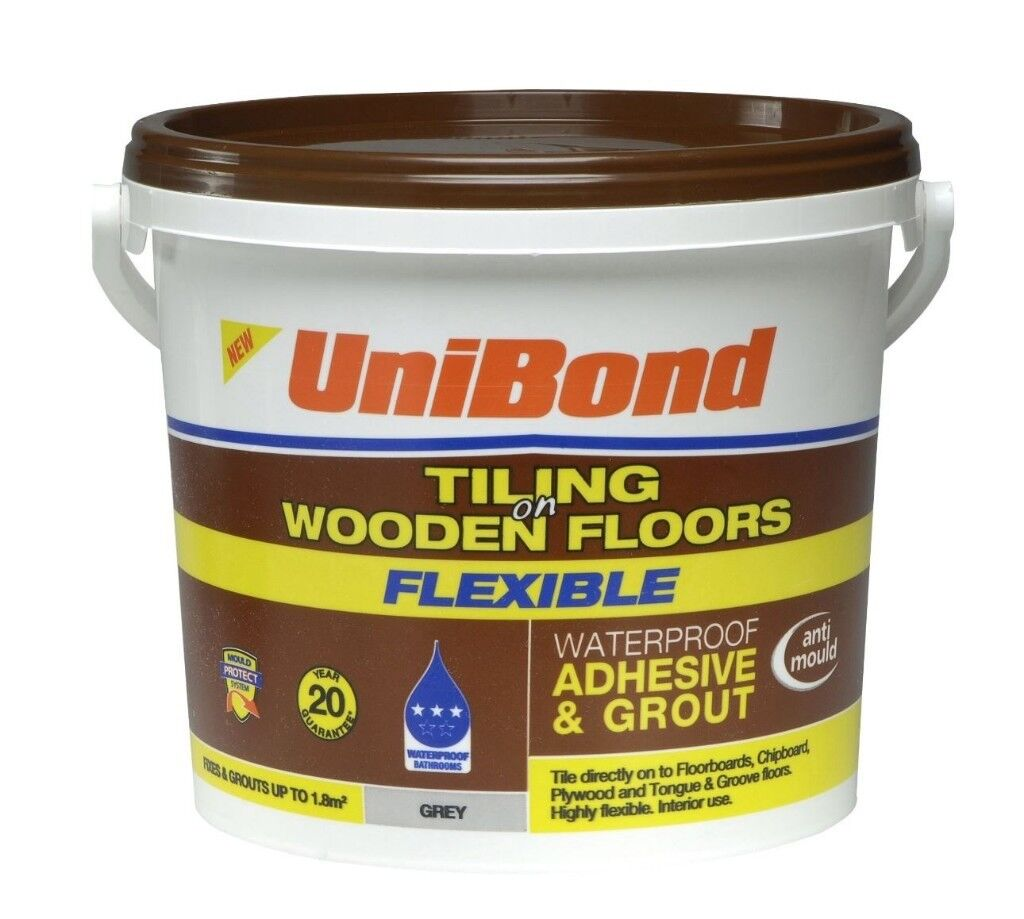 Unibond Ready To Use Floor Tile Adhesive Grout In Leith