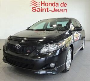 2010 Toyota Corolla S Automatique-A/C-Toit-Mags