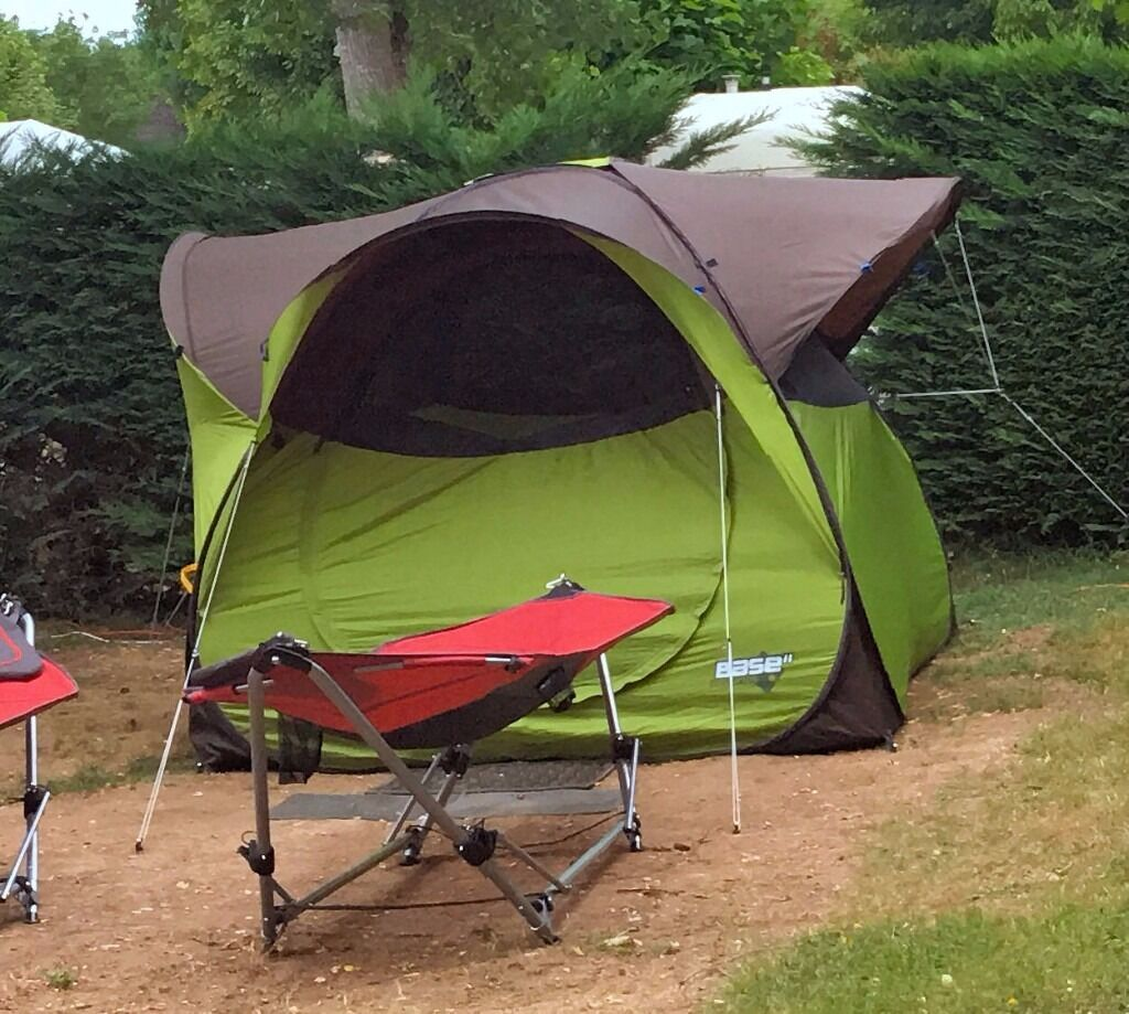 quechua base seconds tent and groundsheet in ellesmere. Black Bedroom Furniture Sets. Home Design Ideas