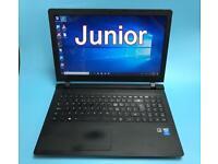 UltraFast QuadCore 128SSD Slim HD Lenovo Laptop, 4GB, Win 10,HDMI,office,V Good Condition