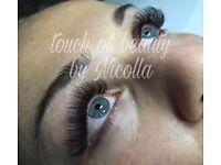 Eyelashes extension , Russian volume , American volume 3D , individual eyelashes