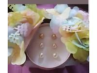 Anna pearlesque earrings giftset