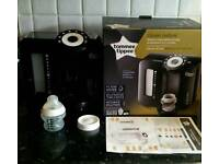Tommee tippee Perfect prep machine, microwave steriliser, hot water flask