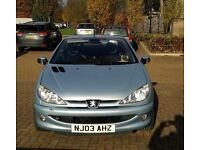 Peugeot Sport Full-Options 206cc convertible, 70000 miles ONLY!!!